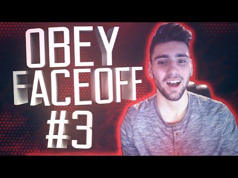 Obey Jylos: Obey Faceoff #3 (TRIPLE HEADSHOT COLLAT!)