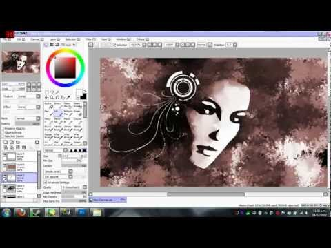 Speed paint - Shadow Girl Background