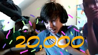 20,000 SUBSCRIBERS