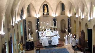 Feast of the Assumption - Abbey of Saint-Joseph de Clairval in Flavigny - Renewal of Vows