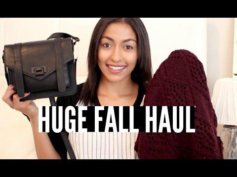 HUGE Fall Fashion Haul ♡ Forever 21, LF, Brandy Melville, MAC