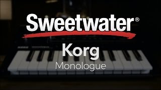 Korg Monologue Analog Synthesizer Review by Daniel Fisher