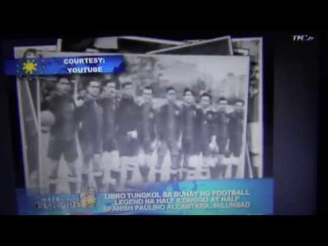 Book on legendary Filipino footballer launched