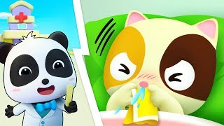 Baby's Visit To The Doctor | Going to the Doctor | Nursery Rhymes | Kids Songs | BabyBus