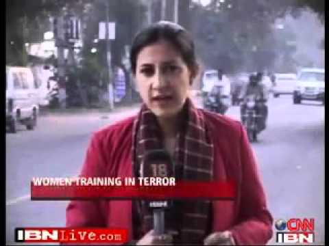 women terrorist caught in Jammu-Kashmir.flv
