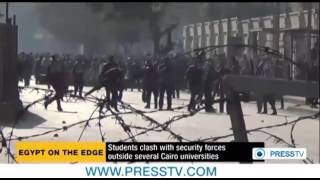Egypt police attack pro-Morsi students at Ain Shams University