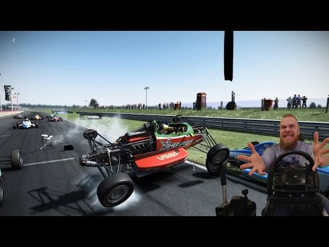 Project Cars - Fails, неудачные попытки, кокпит G27