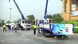 Xe tải gắn cẩu được ưu chuộng nhất tại Việt Nam