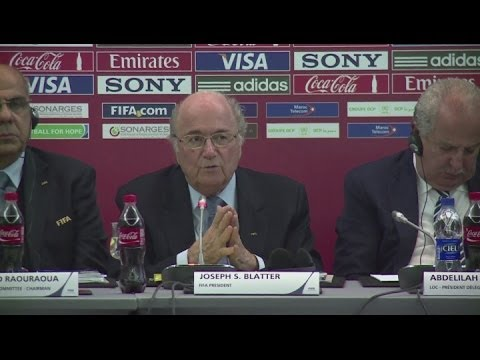 Blatter hints at protecting Club World Cup on international calendar