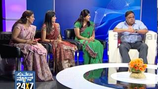 Seg_ 2 - Ambarish with Suvarna Girls - 13 Jan 2013 - Suvarna News
