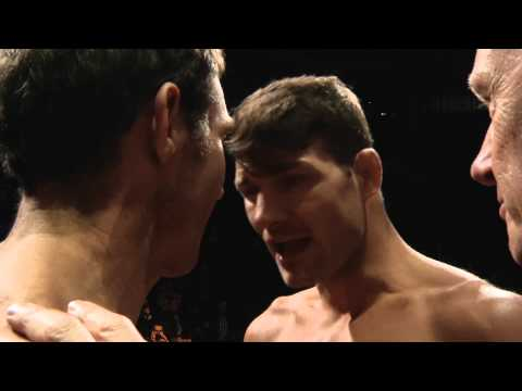 TUF Nations Finale Bisping and Kennedy Staredown