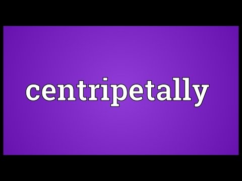 Header of centripetally
