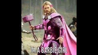 Barbie Girl Super Heroes