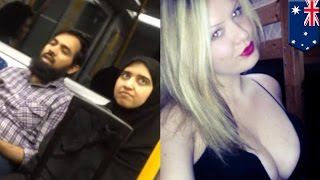 Anti-Muslim train rant against Sydney family thwarted by 23-year-old  woman Stacy Eden