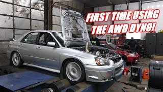 Breaking In The AWD Dyno With Hondaru!