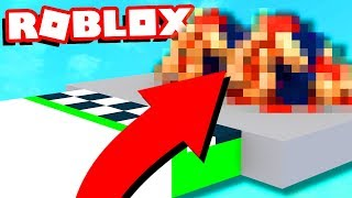ROBLOX OBBY HAS SOMETHING REALLY WEIRD AT THE END...