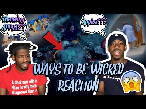 APPLES!!!! Descendants 2 - Ways to Be Wicked (Official Video) REACTION!!