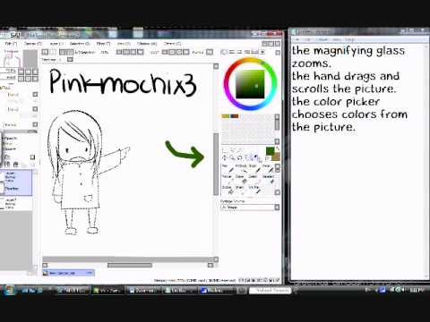 How To Rotate Canvas In Paint Tool Sai