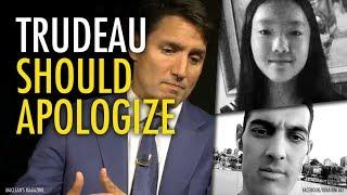 Marrisa Shen murder: Trudeau must apologize 賈斯頓.特魯多必須道歉