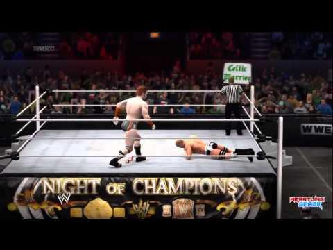 Wwe Night Of Champions 2014 Sheamus Vs Cesaro United States Championship Match Result video