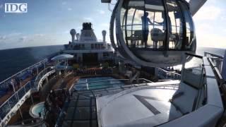 Israeli-Miami jew Oligarch Micky Arison Puts Robotic Bartenders On New Royal Caribbean Ship