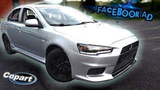 2014 Mitsubishi Lancer SE Facebook ad