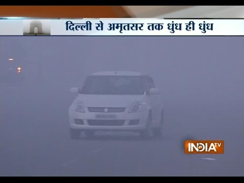 Thick Fog Blankets Delhi, Delays Flights and Trains
