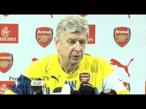 Arsene Wenger pre QPR vs Arsenal