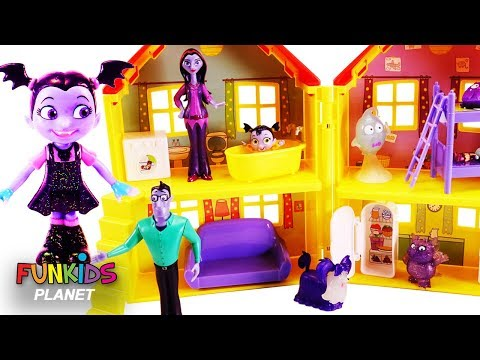 Vampirina Doll House with Paw Patrol Surprises