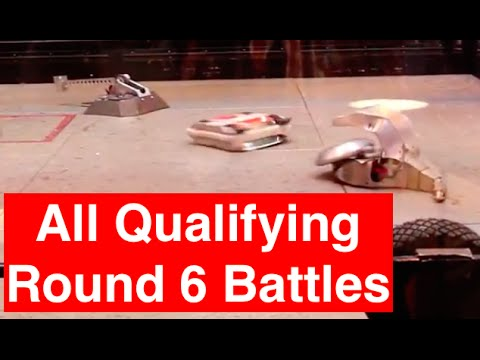 RC Combat Robot Wars – All Battles for Q6 – 2015 RC World Championships Qualifying Round
