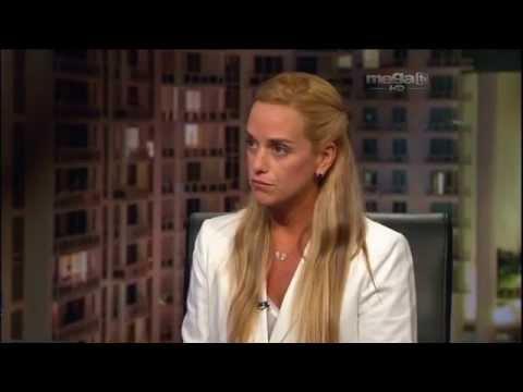 Jaime Bayly entrevista a Lilian Tintori, esposa de Leopoldo López 1/4