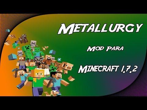 Metallurgy Mod Para Minecraft 1.7.2