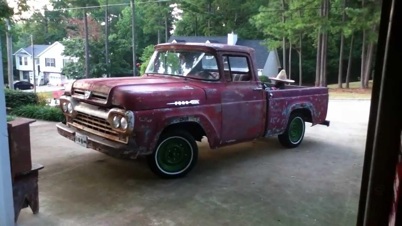 1960 Ford F100 Classic Pickup Truck Youtube
