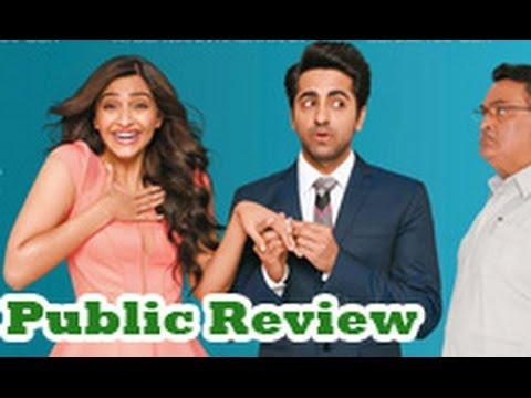 Bewakoofiyaan Public Review | Hindi Movie | Ayushmann Khurrana, Sonam Kapoor, Rishi Kapoor