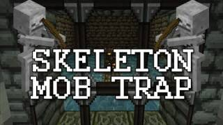 Skeleton Spawner Trap! - Minecraft - #2