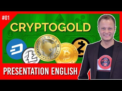 Crypto Gold (english presentation) - Bitcoin Mining 2017 | Ethereum Mining
