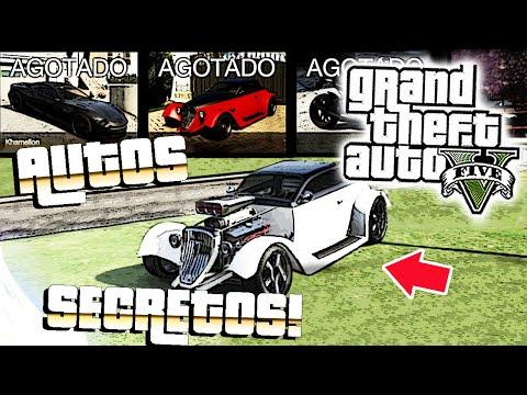 GTA V Online - Conseguir todos los Autos Secretos / Agotados Gratis! | Glitch
