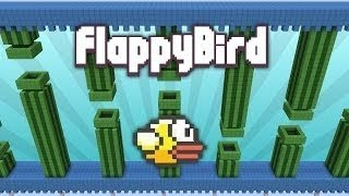 Minijuego: FLAPPY BIRD EN MINECRAFT!!
