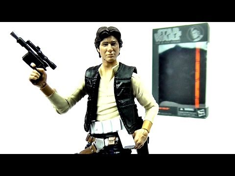 STAR WARS Black Series Han Solo Figure Review | Votesaxon07