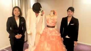 「【第2回】カラードレスとタキシードのコーディネートをご紹介!」の画像|八王子ホテルニューグランド婚礼ブログ