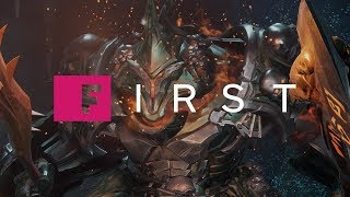 Darksiders 3: See the Wrath Boss Fight - IGN First