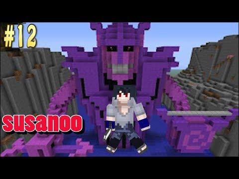 #12 Sasuke Membangkitkan Susanoo - Minecraft Naruto Series