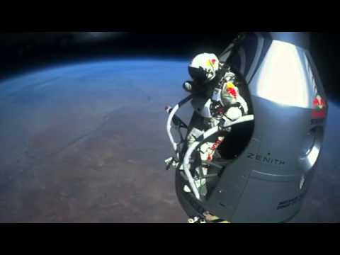 www wapshared com   Felix Baumgartner's supersonic freefall from 128k'   Mission Highlights