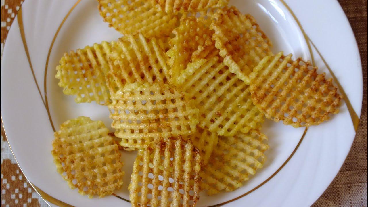 Рецепт чипсов из картофеля в домашних условиях