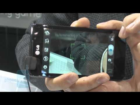 LG Optimus 3D Max Demonstration