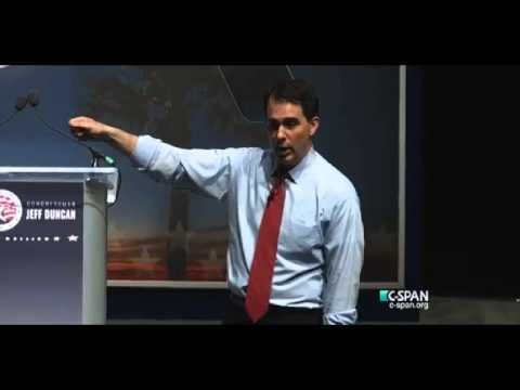 Scott Walker Lays Out His Vision For America At The South Carolina Freedom Summit