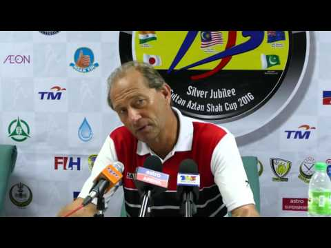 India press conference post win over Malaysia 6-1. Mens Azlan shah cup hockey