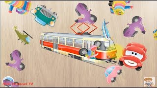 384 Puzzles for Preschool Kids - Children Learn Cars and Tools | Kids Puzzles Games | Kid Games