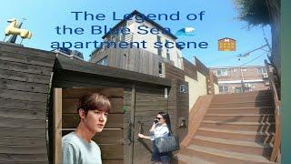 the legend of the Blue sea apartment scene