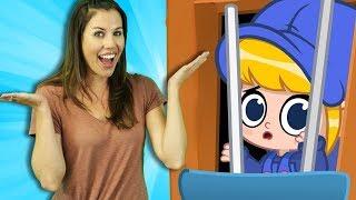 MIla Goes Jail | Cartoons For Kids | My Magic Pet Morphle | Mila and Morphle | Sandaroo